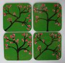 "SOLD online ""Cherry Blossom"" Coasters"